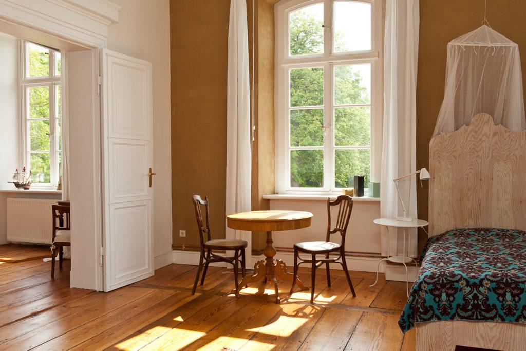 einzelbett in ferienwohnung in pohnstorf